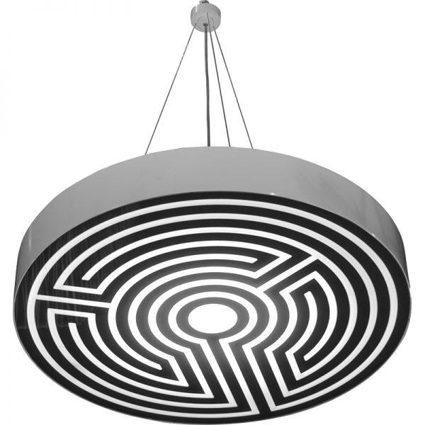 Stanley Ruiz - Labyrinth Round Pendant