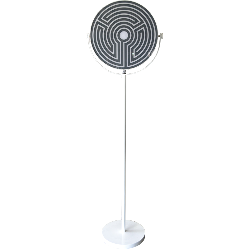 VLM117 - Labyrinth Round Floor Lamp